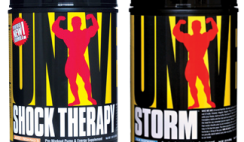 Storm/Shock Therapy Workout Supplement Sample