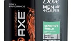 Free Dove Men's Body Wash or Axe Body Spray from Walmart