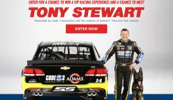 Adam's Pet Care's Rev Up VIP Racing Experience Sweepstakes