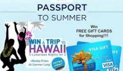 Gap's Passport to Summer Sweepstakes