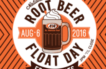 Free Root Beer Float from A&W