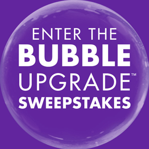 Clear Care's Bubble Upgrade Sweepstakes