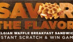 Dunkin' Donuts' Savor the Flavor Instant Win Game and Sweepstakes