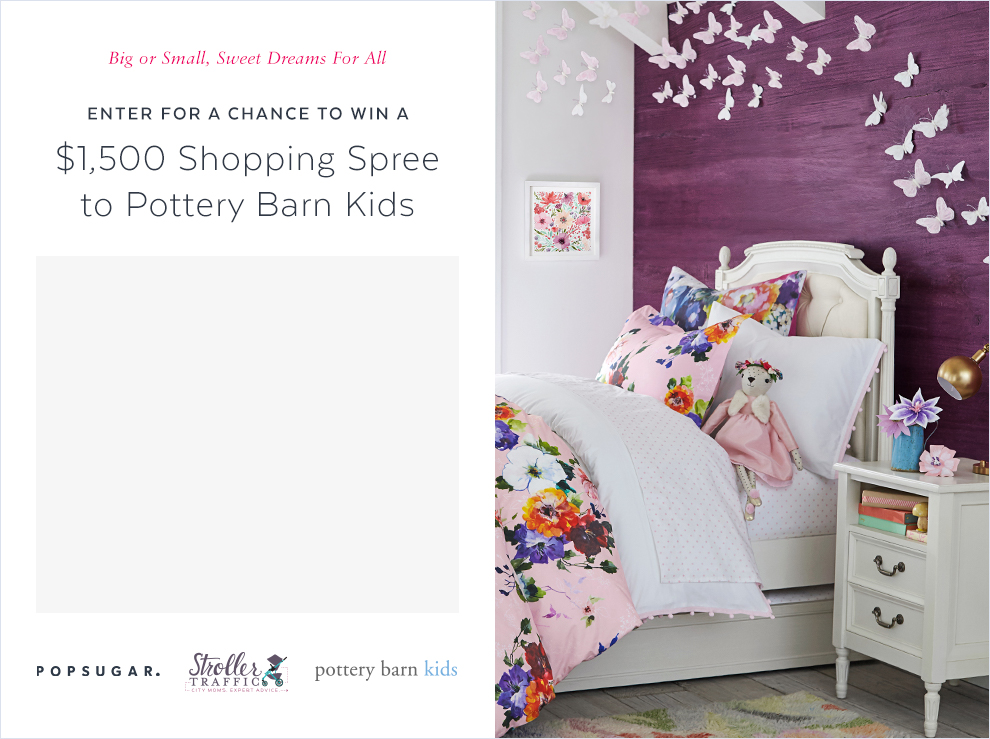Popsugar's Shopping Spree to Pottery Barns Sweepstakes