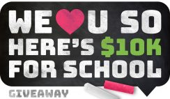 TextbookRush's $10K for School Sweepstakes