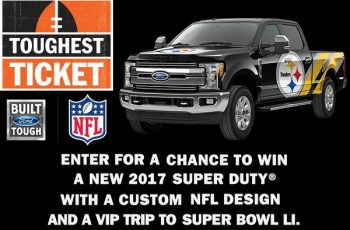 Ford's The Toughest Ticket Sweepstakes