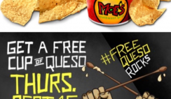 Free Queso Dip and Chips from Moe's Southwest Grill