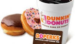 Freebies from Dunkin' Donuts
