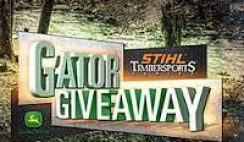 Stihl's Timbersports Gator Giveaway Sweepstakes