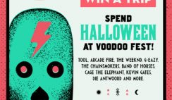 iHeart Radio's Spend Halloween at Voodoo Music Festival Sweepstakes