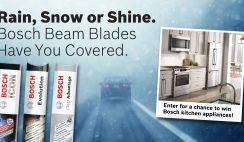 Bosch Auto Parts' Rain, Snow or Shine Sweepstakes