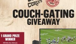 Curly's RoadTrip Eats Couch-Gating Giveaway