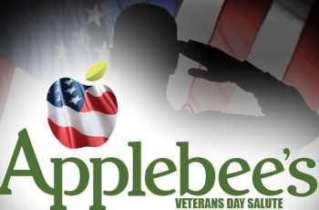 Free Meal from Applebee's on Veteran's Day