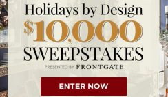 Frontgate's Holidays by Design Sweepstakes