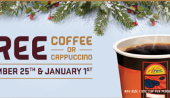 Free Coffee from APlus