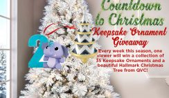 QVC's Countdown to Christmas Keepsake Ornament Giveaway
