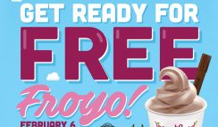 Free Yogurtland Froyo on Feb. 6