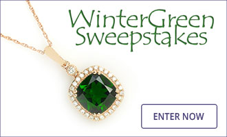 Gem Shopping Network's WinterGreen Sweepstakes