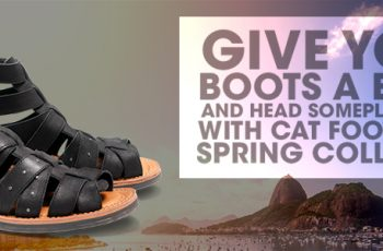 Cat Footwear's Give Your Boots A Rest Contest