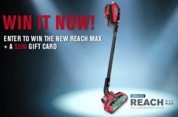 Win a Dirt Devil Reach Max Stick Vacuum