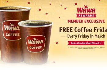 Free Coffee from Wawa Every Friday