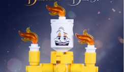 Free Lumiere Character from Toys R Us' Beauty and the Beast Movie Launch Party