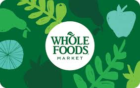 $100 Whole Foods Market Gift Card