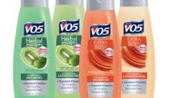 Free V05 Shampoo or Conditioner Sample