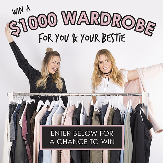 Win a $1,000 Wardrobe for You and Your Bestie