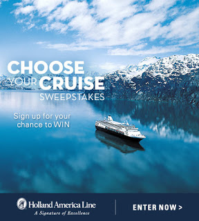 Win a 7-day Cruise of Your Choice from Holland America