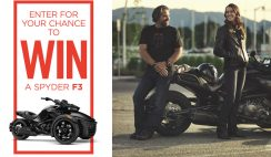 Can-Am Spyder's Win a BRP Product Sweepstakes