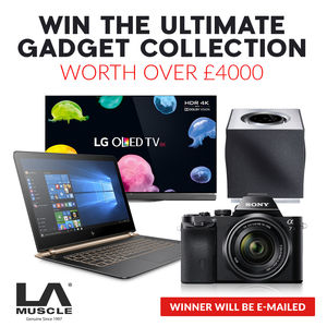 LA Muscle's Win the Ultimate Gadget Collection Contest