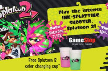 Free Splatoon 2 Color Changing Cup
