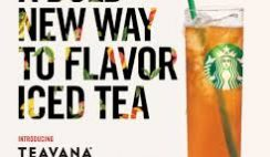 Free Starbucks Teavana Infused Tea