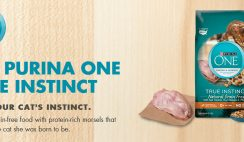 Free Purina One True Instinct Cat Food Sample