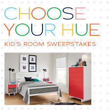Room & Board's Choose Your Hue Kid's Room Sweepstakes