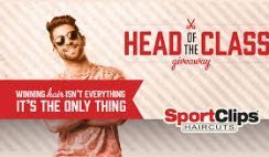 Sport Clips' Head of the Class Sweepstakes