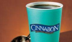 Free Coffee from Cinnabon on Sept. 29