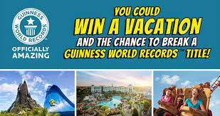 Guinness World Records' Dream Vacation Sweepstakes
