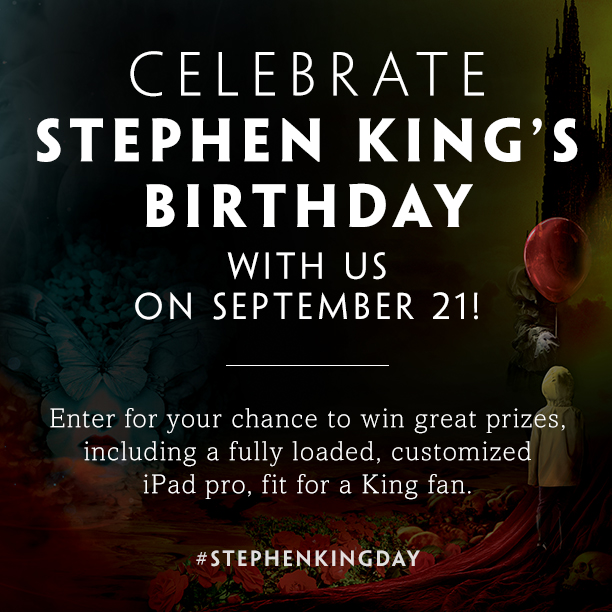 Simon and Schuster's Stephen King Day Sweepstakes