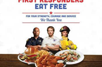 Free Meal at Hooters on National First Responders Day