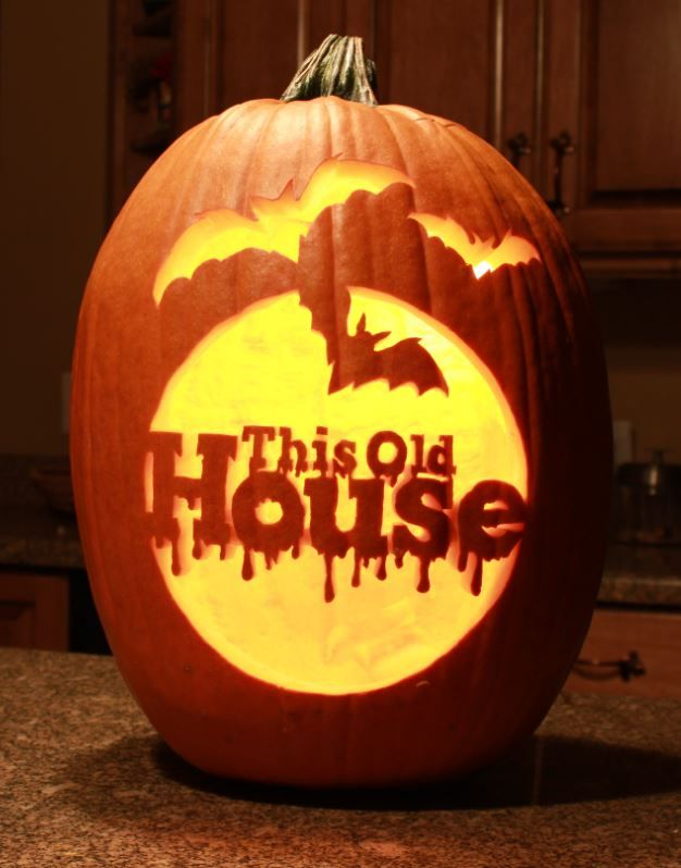 This Old House's Pumpkin Carving Contest