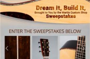 CF Martin & Co's Dream It, Build It Sweepstakes