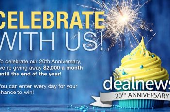 Dealnews' Anniversary Sweepstakes