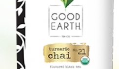 Free Good Earth Turmeric Chai Tea Blend Sample