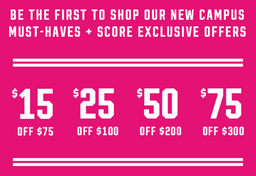 Free PINK Bag from Victoria's Secret's PINK Private Shopping Event