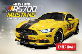 Powernation TV's Rislone RS700 Mustang Sweepstakes