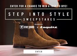 Stacy Adams & Esquire's Step Into Style Sweepstakes