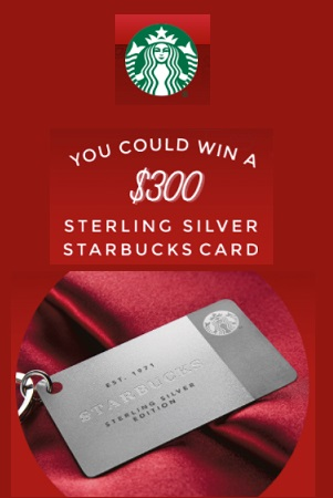 Starbucks' Share the Cheer Sweepstakes