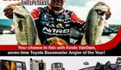 Bassmaster's Fish with Kevin VanDam Sweepstakes